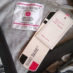 Soho Apparel Tops - Ladies hoodie
